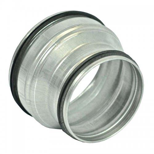 Redukce z pozinkovaného plechu s těsnící gumou, 400 / 315 mm DALAP RM-O 400/315
