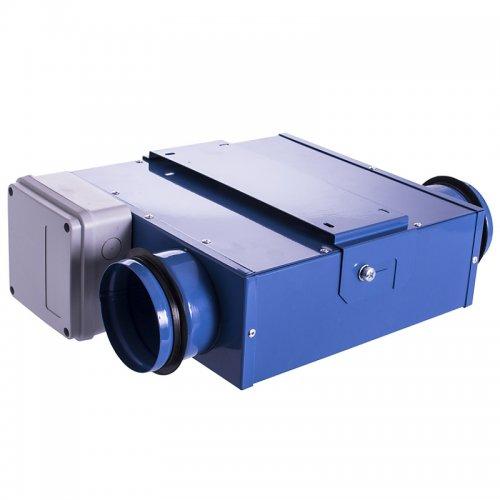 Malý kovový ventilátor 99mm DALAP LIN 100 mini