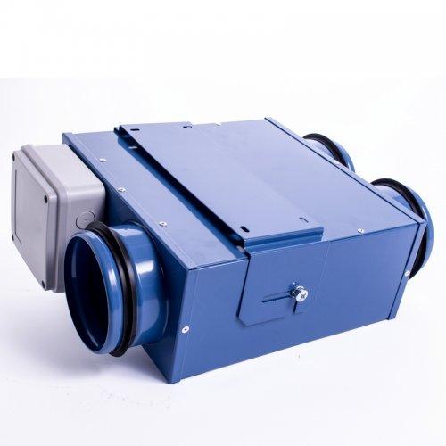 Malý kovový ventilátor 79mm DALAP LIN 80/80*2 mini