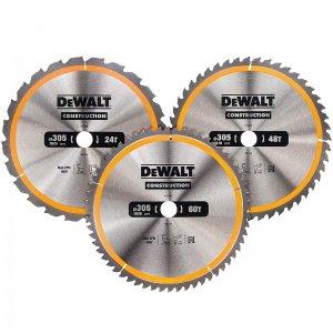 Sada 3ks pilových kotoučů 305x30mm (1xDT1958, 1xDT1959, 1xDT1960) DeWALT DT1964