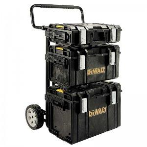 Kompletní set kufrů Tough Box a přepravního vozíku DSCarrier TOUGHSYSTEM DeWALT 1-70-349