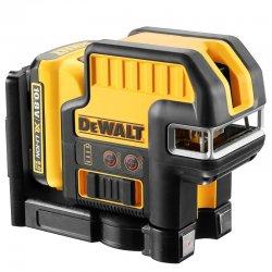 Křížový/pětibobový laser 1x2,0Ah 10,8V DeWALT DCE0825D1R