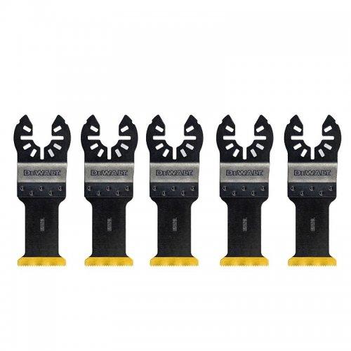 5 ks titanových pilových listů pro řezání kovu 30mm x 43mm ( 5 x DT20707) DeWALT DT20727