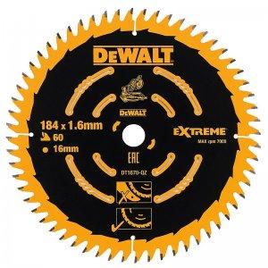 Pilový kotouč 184x16mm 60z ABT +7° DeWALT DT1670