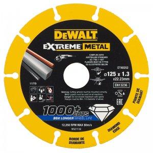 Diamantový kotouč EXTREME METAL 125mm DeWALT DT40252