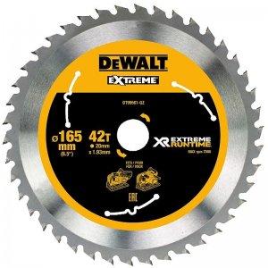 Pilový kotouč 165x20mm, 42 zubů DeWALT FLEXVOLT DT99561