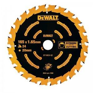 Pilový kotouč 165x20mm, 24 zubů pro aku pily DeWALT DT10624