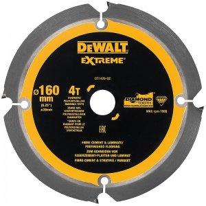 Pilový kotouč pro cementovláknité desky a laminát 160x20mm 4z DeWALT DT1470