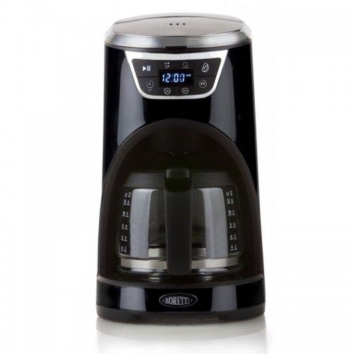 Kávovar s časovačem, černý Boretti B410