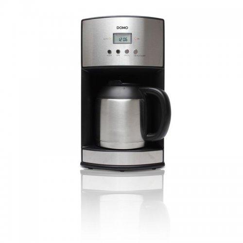 Kávovar s časovačem a termokonvicí DOMO DO474K