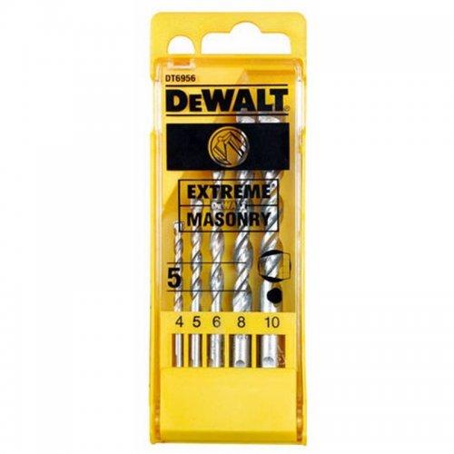 5-ti dílná sada vrtáků EXTREME do zdiva DeWALT DT6956