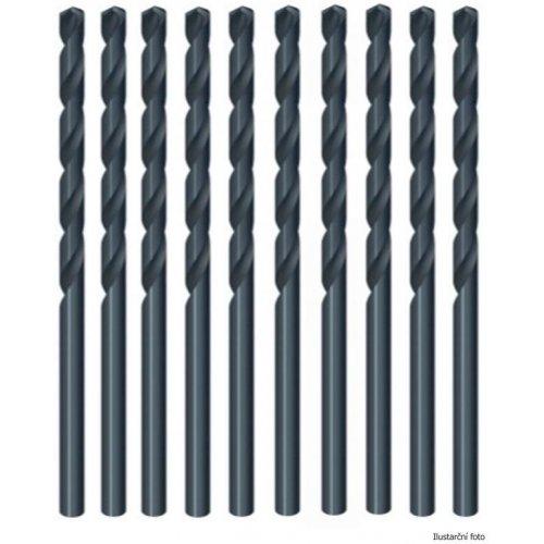 Vrtáky do kovu HSS-R Jobber 6x93mm 10ks DeWALT DT5152