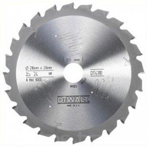 Pilový kotouč Series 60 pro kotoučové pily 216x30mm 24z ATB -5° DeWALT DT4310