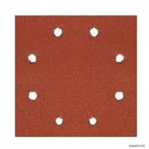 Brusný papír suchý zip 115x115mm P 120 10ks DeWALT DT3023