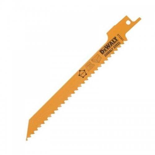 Pilový plátek demoliční na dřevo jemný, rychlý, obloukový řez pro mečové pily 152mm 5ks DeWALT DT2351