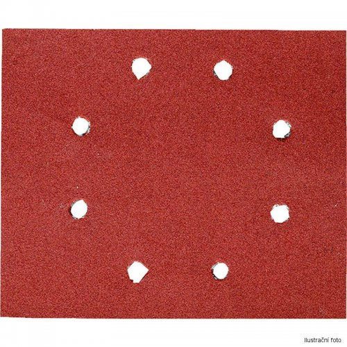 Brusný papír 140x115mm P 100 10ks DeWALT DT3004