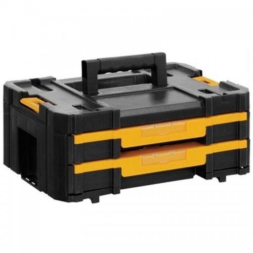Box na nářadí se 2 zásuvkami 8l TSTAK Box IV DeWALT DWST1-70706