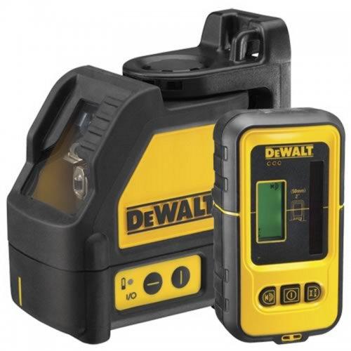 Samonivelační křížový laser s přijímačem DeWALT DW088KD