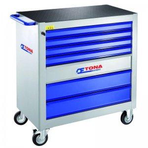 Montážní vozík XXL se 7 zásuvkami Tona Expert E010101T