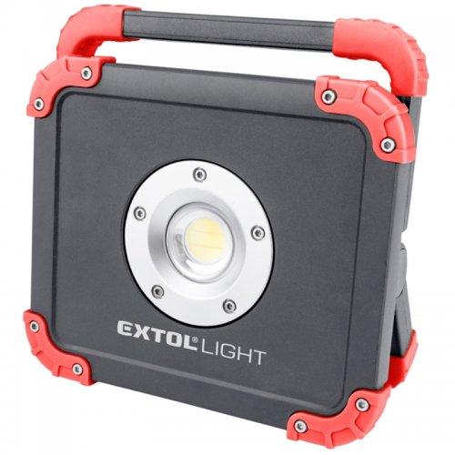 LED reflektor nabíjející s powerbankou 2000lm EXTOL LIGHT 43134