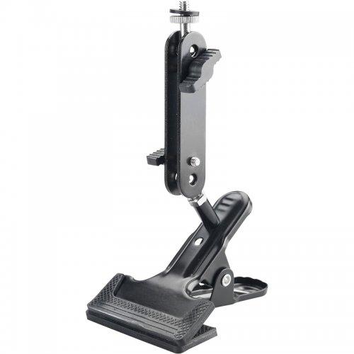 """Držák - klip nastavitelný na laser/kameru 1/4"""" EXTOL PREMIUM 8823923"""