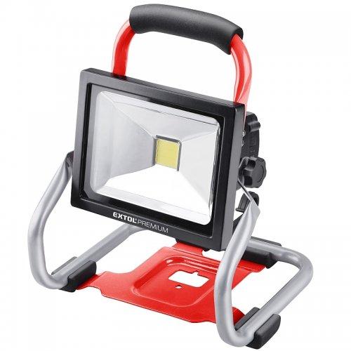 Aku LED reflektor 20V 2,0Ah Extol Premium 8891870