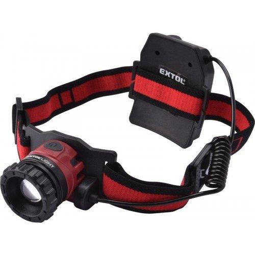 Čelovka 40lm nabíjecí CREE XPL EXTOL LIGHT 43190
