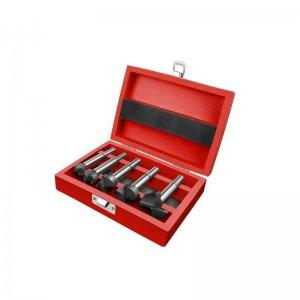 Frézy-sukovníky do dřeva sada 5ks 15-35mm EXTOL PREMIUM 8802030