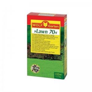 Hnojivo na trávník 2,5 kg Wolf-Garten LD-A 100