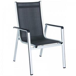 Hliníková stohovatelná židle Elements