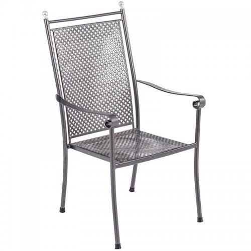 Stohovatelná židle z tahokovu Excelsior