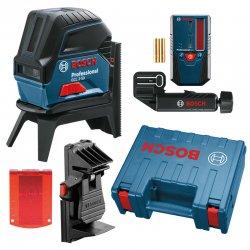 Kombinovaný laser Bosch GCL 2-50 + přijímač laserového paprsku LR 6