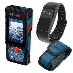 Laserový dálkoměr Bosch GLM 120 C Professional + fitness náramek