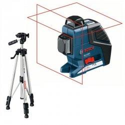 Křížový laser + stativ BS 150, Bosch GLL 2-80P Professional