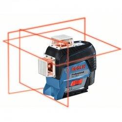 Křížový laser Bosch GLL 3-80 C Professional + laserový měřič GLM 50 C 0601063R07