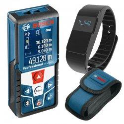 Laserový dálkoměr Bosch GLM 50 C Professional + fitness náramek
