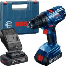Aku vrtací šroubovák 2x1,5Ah Bosch GSR 180-LI Professional 0 601 9F8 100