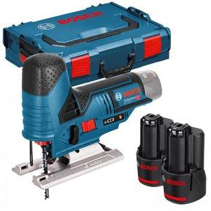 Aku kmitací pila 2x3,0Ah + L-BOXX Bosch GST 12V-70 Professional