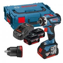Aku vrtací šroubovák 2x5,0Ah Bosch GSR 18V-60 FC FLEX Professional
