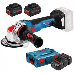 Aku úhlová bruska 18V 2x8,0Ah Bosch GWX 18V-10 SC Professional 0.601.7B0.401