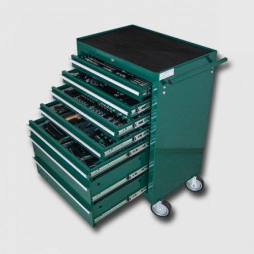 Montážní vozík na nářadí kovový vybavený 231dílů HONITON HA250