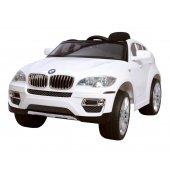 Dětské akumulátorové autíčko BMW X6 - WHITE