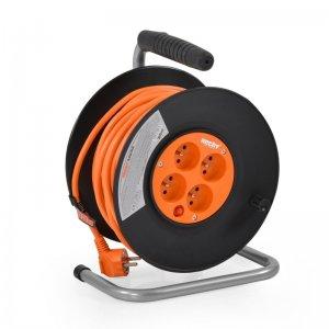 Prodlužovací kabel 50m na cívce HECHT 450153