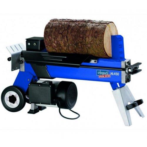 Horizontální štípač dřeva Scheppach HL 450
