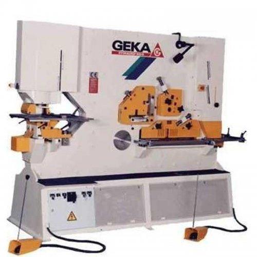 Hydraulické nůžky s děrováním a vysekáváním GEKA HYDRACROP 165 SD