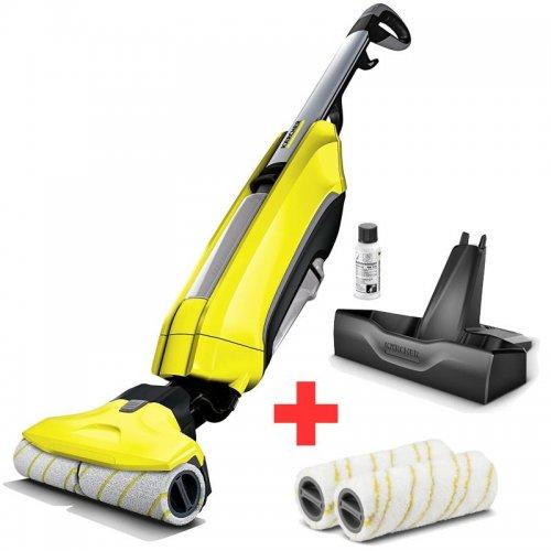 Podlahový čistič + sada válců KÄRCHER FC5 2v1 1.055-500.0