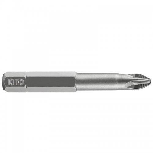 Sada hrotů 10 ks PZ 3x50 mm S2 KITO 4811212
