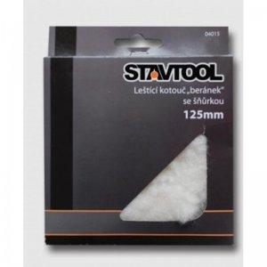 Kotouč leštící 125mm LH125V+suchý zip STAVTOOL KL04017