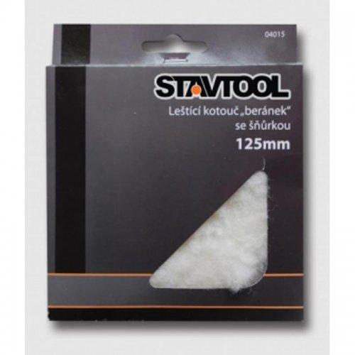 Kotouč leštící 125mm LH STAVTOOL KL04015