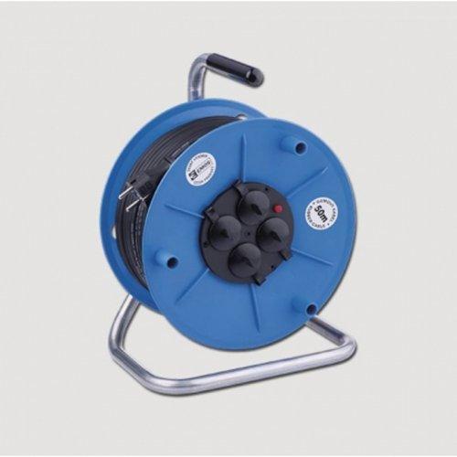 Prodloužený kabel gumový na bubnu 230V/25m EMOS KL29225
